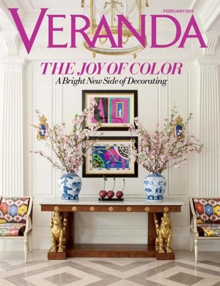 Veranda Cover - 2/1/2012
