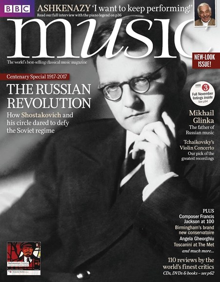 BBC Music Cover - 11/1/2017