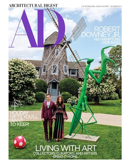 Architectural Digest Cover - 12/1/2017