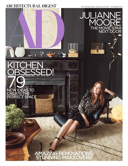Architectural Digest Cover - 11/1/2017