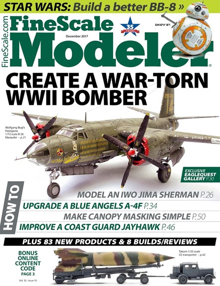 Finescale Modeler Cover - 12/1/2017