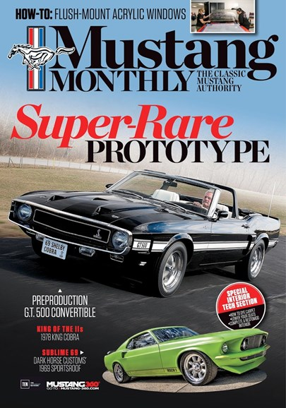 Mustang Monthly Cover - 12/1/2017