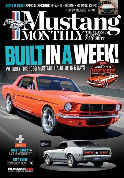 Mustang Monthly Cover - 11/1/2017