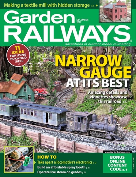 Garden Railways Cover - 12/1/2017