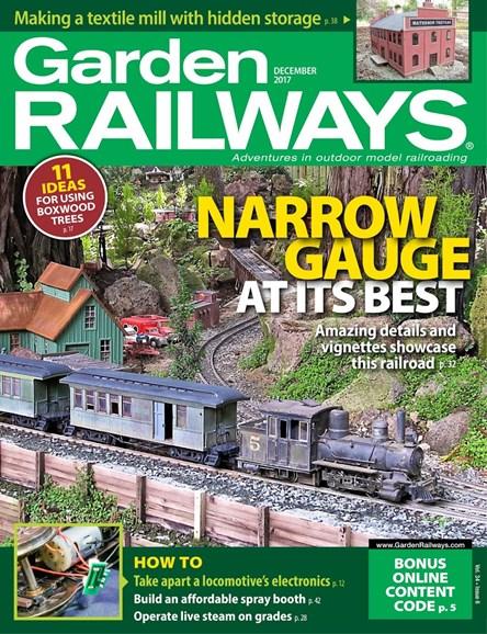 Garden Railways Cover - 12/1/2017