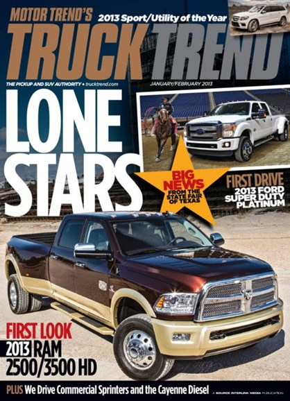 Truck Trend Cover - 1/1/2013