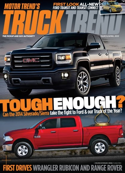 Truck Trend Cover - 3/1/2013