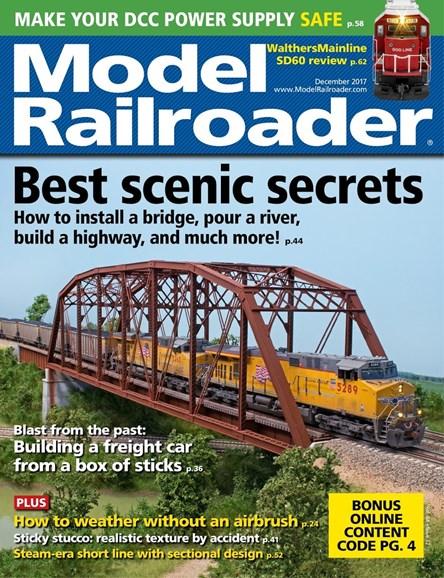 Model Railroader Cover - 12/1/2017