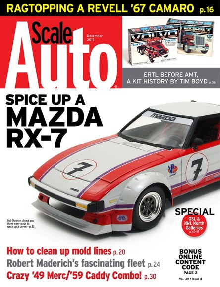 Scale Auto Magazine Cover - 12/1/2017