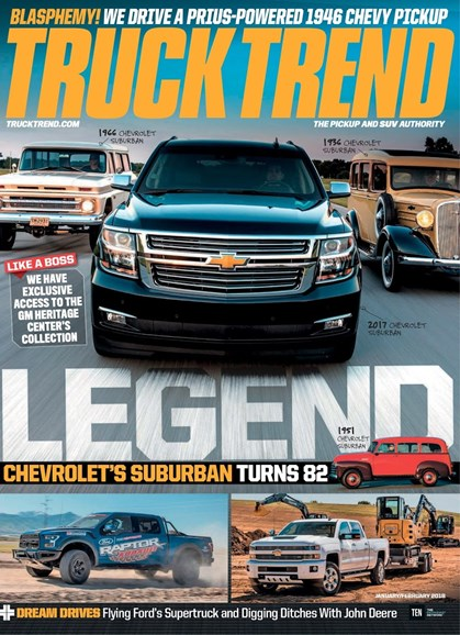 Truck Trend Cover - 1/1/2018