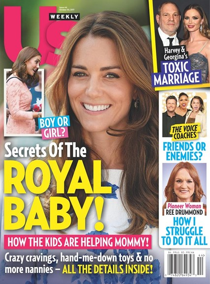 Us Weekly Cover - 10/30/2017