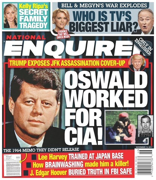 National Enquirer Cover - 11/13/2017