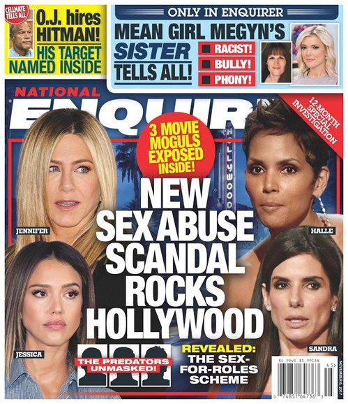 National Enquirer Cover - 11/6/2017