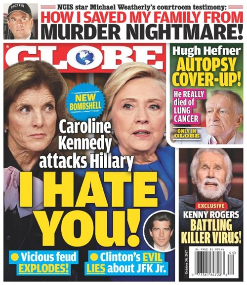 Globe Cover - 10/30/2017