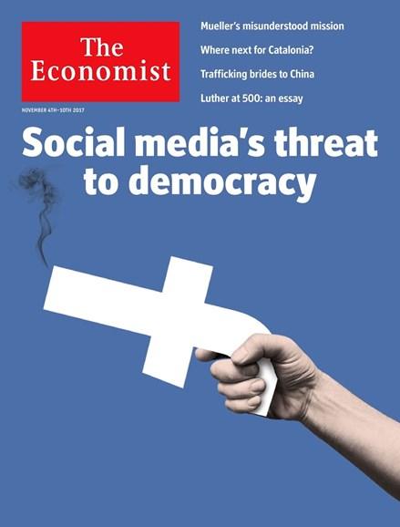 The Economist Cover - 11/4/2017