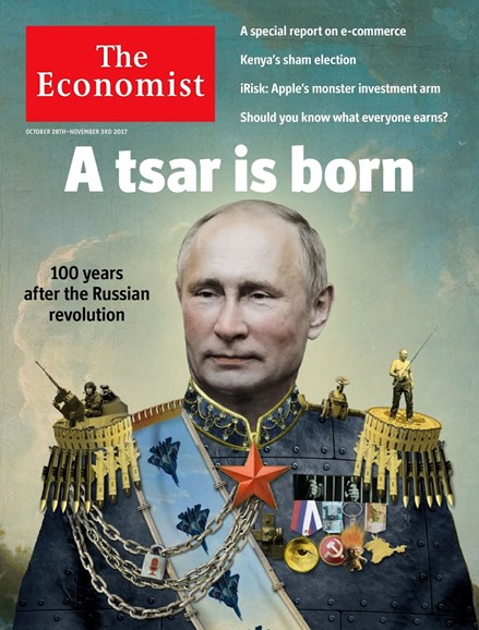 The Economist Cover - 10/28/2017