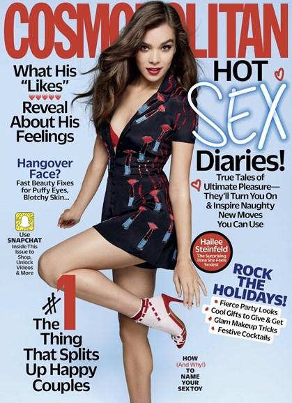 Cosmopolitan Cover - 12/1/2017