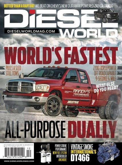 Diesel World Cover - 12/1/2017