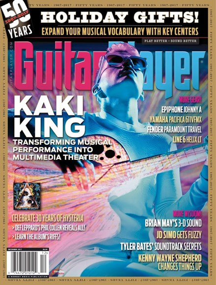 Guitar Player Cover - 12/1/2017