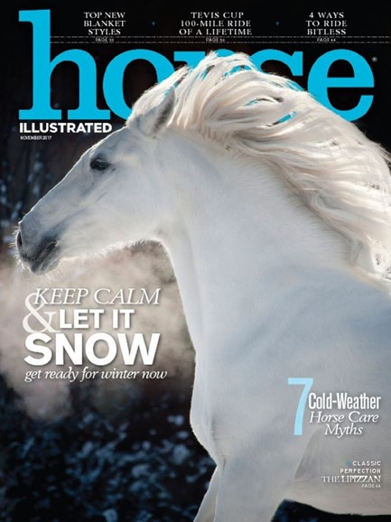 Horse Illustrated Cover - 11/1/2017