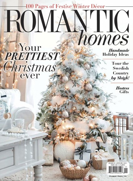 Romantic Homes Cover - 11/1/2017