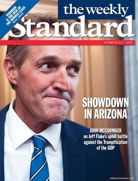 Washington Examiner Cover - 10/30/2017