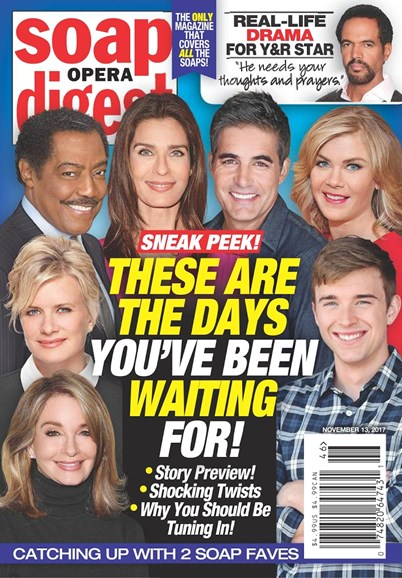 Soap Opera Digest Cover - 11/13/2017