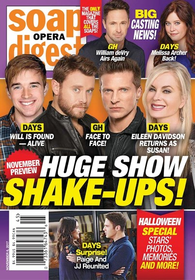 Soap Opera Digest Cover - 11/6/2017