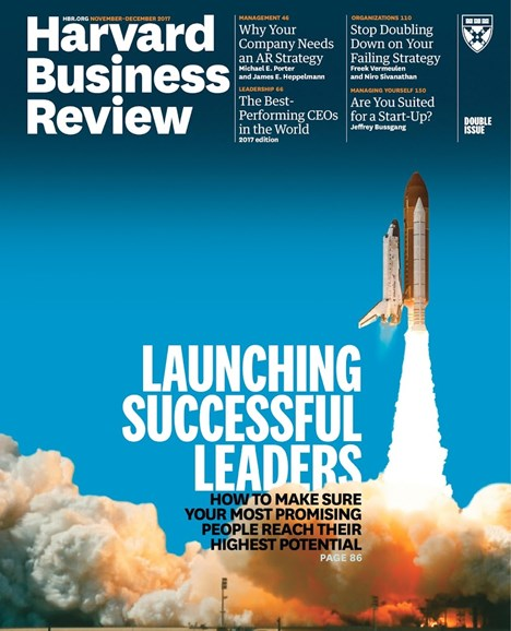 Harvard Business Review Cover - 11/1/2017