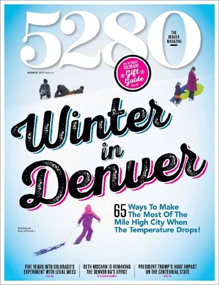 5280 Magazine Cover - 11/1/2017