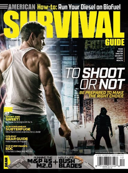 American Survival Guide Cover - 12/1/2017