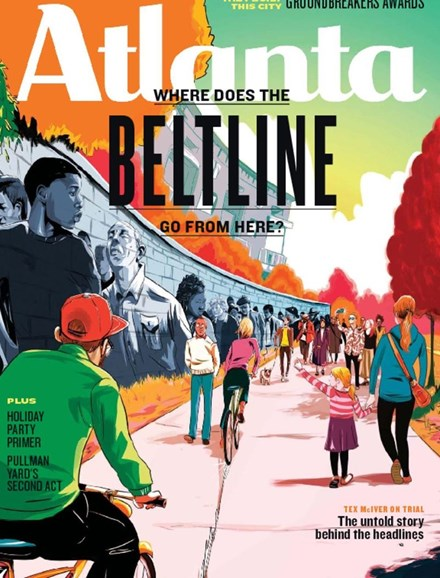 Atlanta Magazine Cover - 11/1/2017