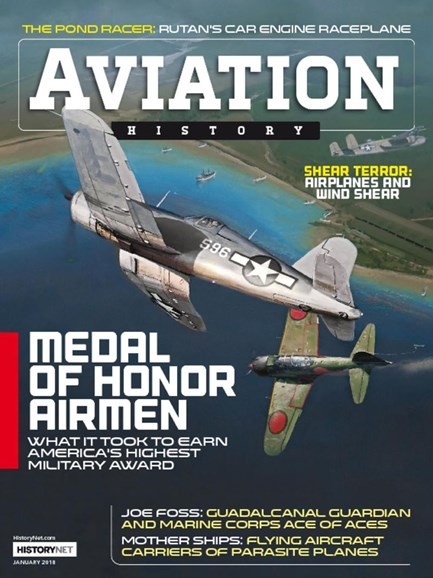 Aviation History Cover - 1/1/2018