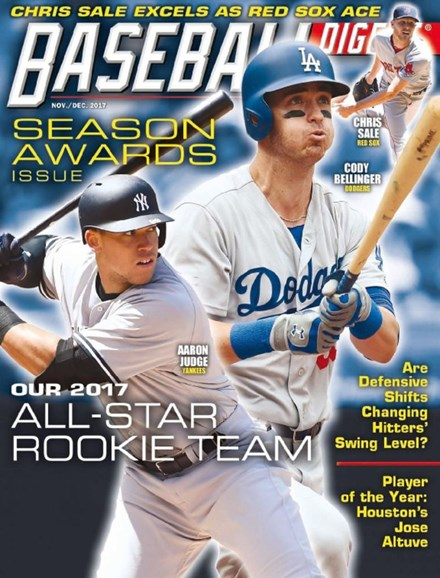 Baseball Digest Cover - 11/1/2017
