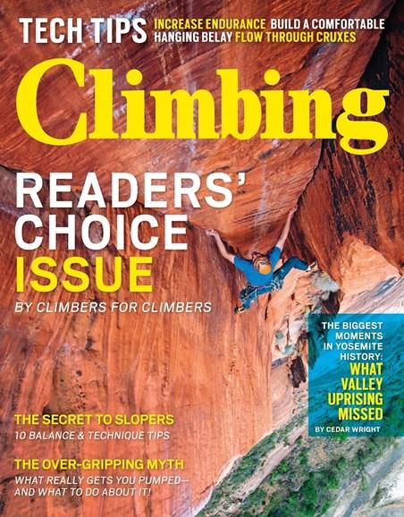 Climbing Magazine Cover - 12/1/2014