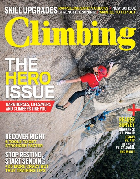 Climbing Magazine Cover - 12/1/2015