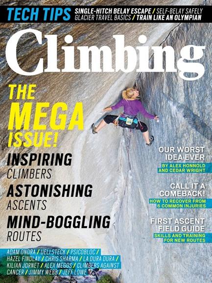 Climbing Magazine Cover - 2/1/2014