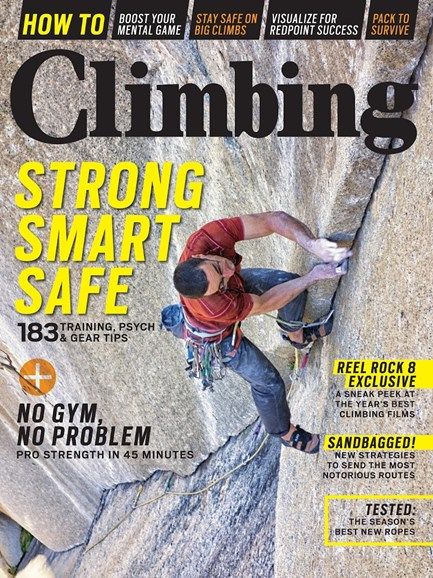 Climbing Magazine Cover - 9/1/2013