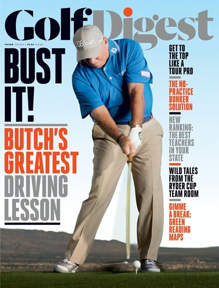 Golf Digest Cover - 11/1/2017