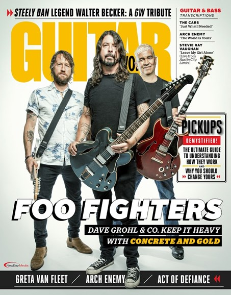 Guitar World Cover - 12/1/2017