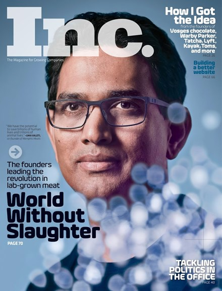 Inc. Magazine Cover - 11/1/2017