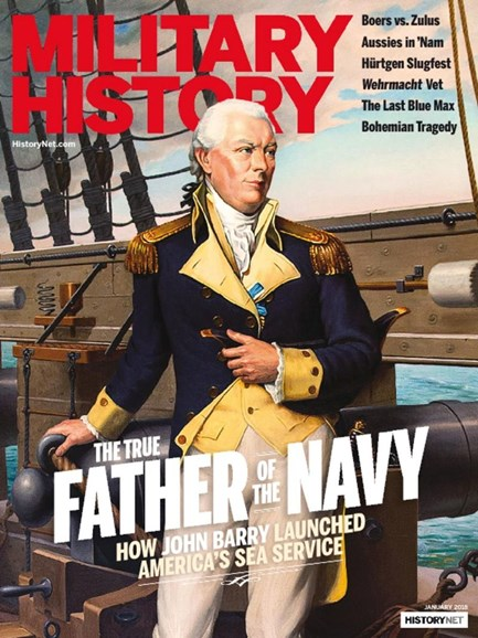 Military History Cover - 1/1/2018