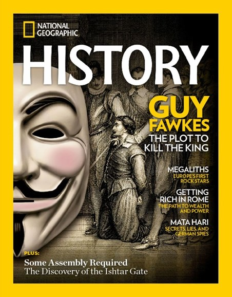 National Geographic History Cover - 11/1/2017