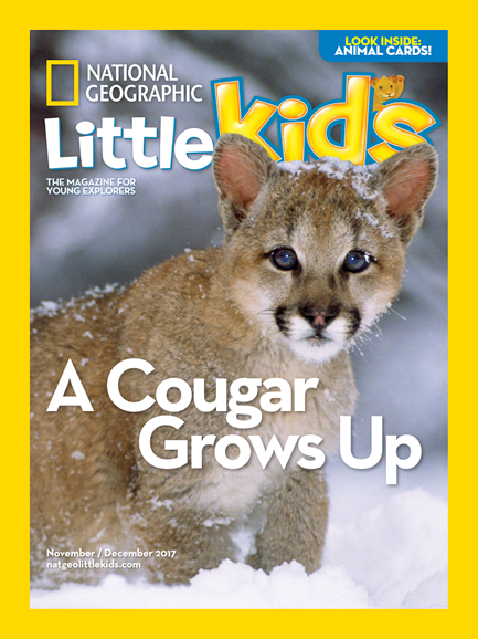 National Geographic Little Kids Cover - 11/1/2017