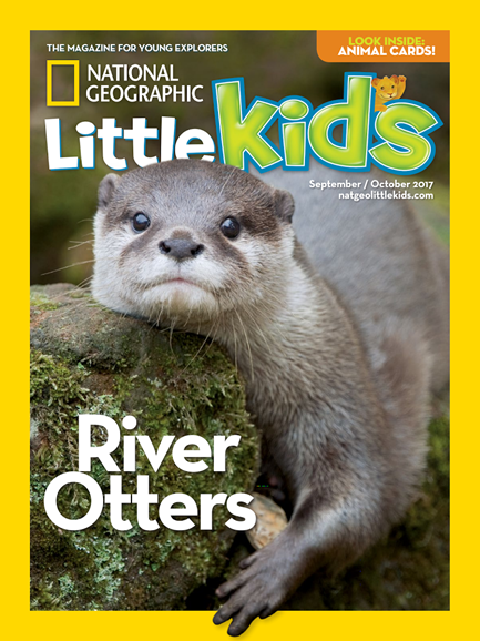 National Geographic Little Kids Cover - 9/1/2017