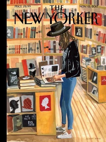 The New Yorker Cover - 11/13/2017