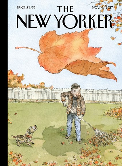 The New Yorker Cover - 11/6/2017