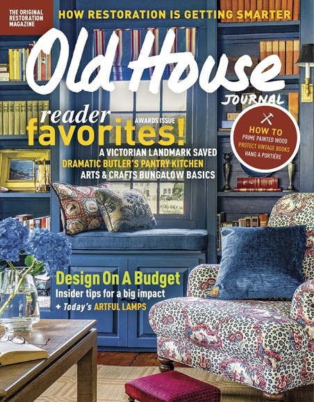 Old House Journal Cover - 11/1/2017