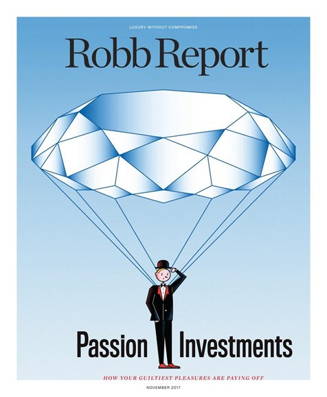 Robb Report Cover - 11/1/2017