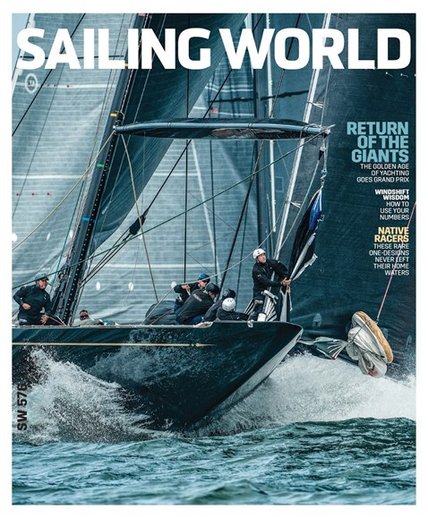 Sailing World Cover - 11/1/2017
